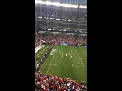 Chile vs Panama (2nd Goal de Vargas)