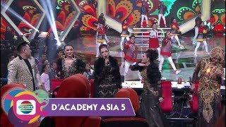 Elegan!!!Diiringi Sax In The City Inul, Masidayu, Zaskia Gotik, Nassar & Soimah Goyang GF DA Asia 5