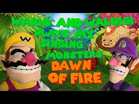 Wario and Waluigi plays My Singing Monsters Dawn Of Fire