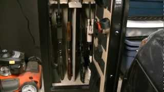 How To Bolt A Gun Safe To The Floor