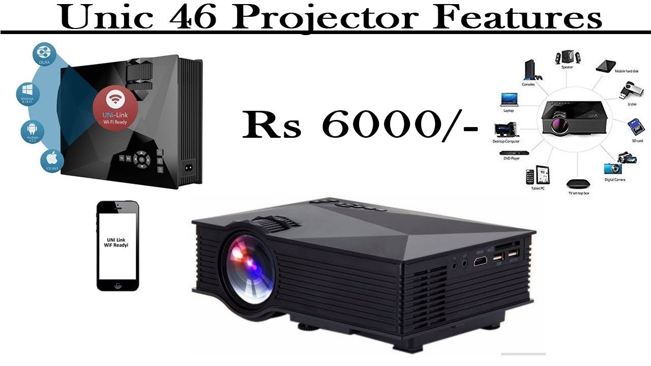 Unic 46 Projector Features -  Behind Facts