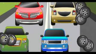 Compact Cars , sports cars , all kinds of cars - games for children