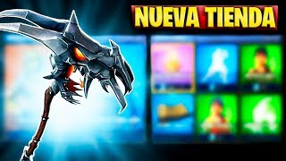 FORTNITE'S NEW STORE TODAY APRIL 8 NEW CALAVERA DEMONY PICO OF THE SKIN RUINA