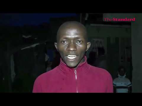Police launch manhunt for a man who allegedly murdered wife in cold blood in Kamulu area in  Nairobi