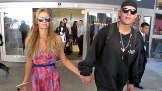 Paris Hilton Gushes About Mayweather Victory As She Arrives Home From Ibiza With Chris Zylka