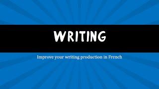 DELF B2 Preparation : 6 Writing exercises