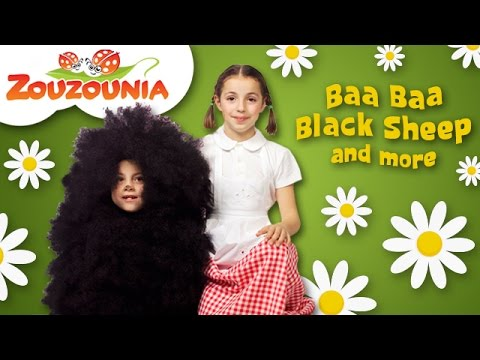 Baa Baa Black Sheep & More | Nursery Rhymes Compilation by Zouzounia TV
