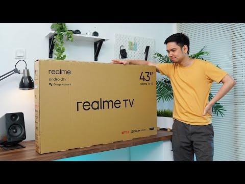 Nyobain TV 43 inci dari realme yang harganya Rp3 jutaan...