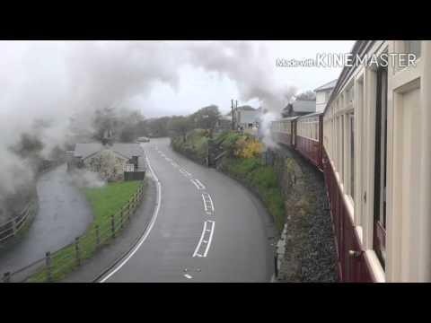 Ffestiniog railway gala and Welsh highland with himalaya 19b May Day weekend