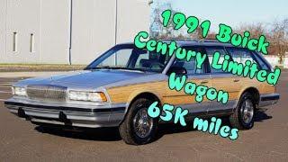 1991 Buick Century Limited Woody estate Wagon 65K