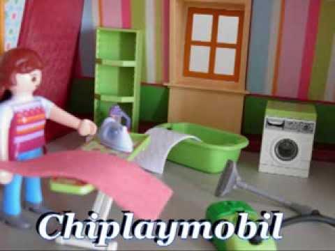 Casa playmobil youtube for Casa moderna de lujo playmobil