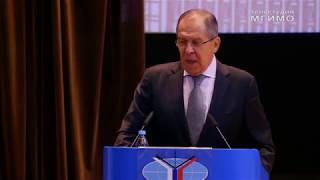 видео: С.Лавров: ответы на вопросы в МГИМО 1.09.2017