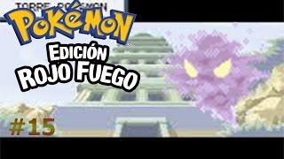 Pokemon Rojo Fuego capítulo 15 El pueblo con fantasmas