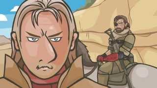 Пародийный мультфильм Metal Gear Solid V (18+)