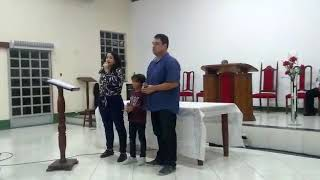"""Participação - Bruno, Fernanda e João Pedro """"Yeshua"""""""