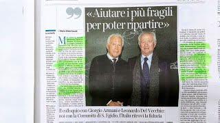Voxitalia commenta leonardo del vecchio