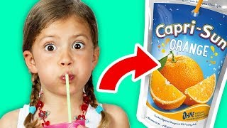Top 10 Untold Truths of Capri Sun!!!