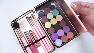 makeup dollup beauty clutch case review