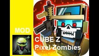 Cube Z (Pixel Zombies) Cheat Menu Mod Apk screenshot 4