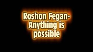 Roshon Fegan - Anything is possible