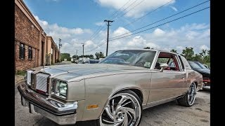 "Debos Customs : 78 Oldsmobile Cutlass on 24"" Wheels"