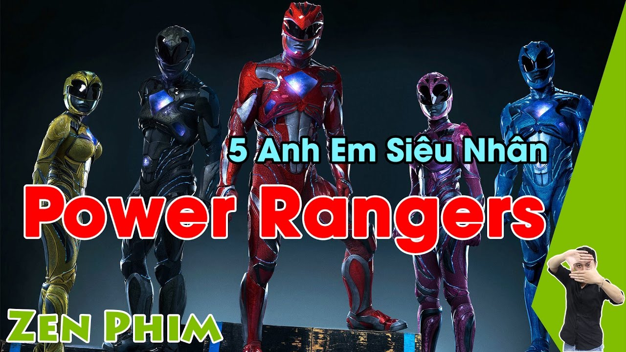 Review Phim 5 Anh Em Siêu Nhân (Power Rangers) | Zenchannel.net