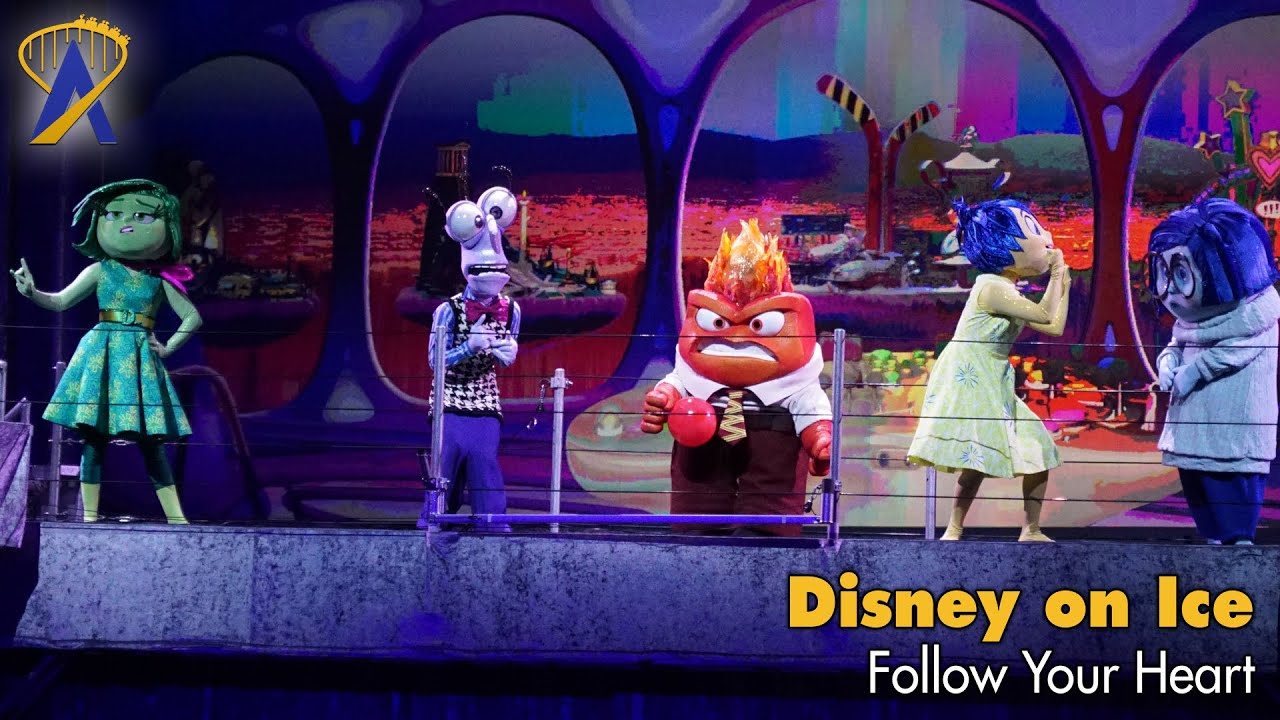 Delightful Disney On Ice   Follow Your Heart Preview   YouTube