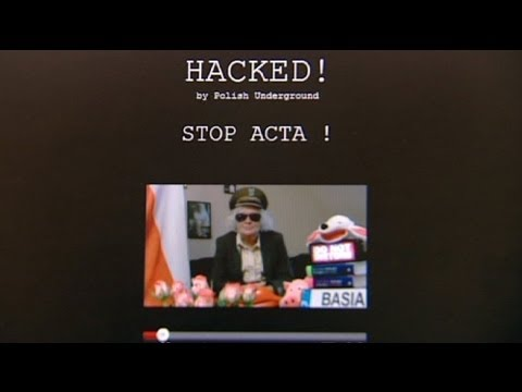 Hackers hit Polish state websites in anti-ACTA protest