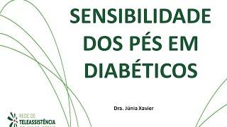 Nos mãos e pés neuropatia diabética nas
