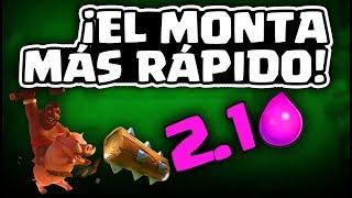 EL MAZO DE MONTA MAS RÁPIDO DEL MUNDO, 2.1 ELIXIR | Malcaide Clash Royale