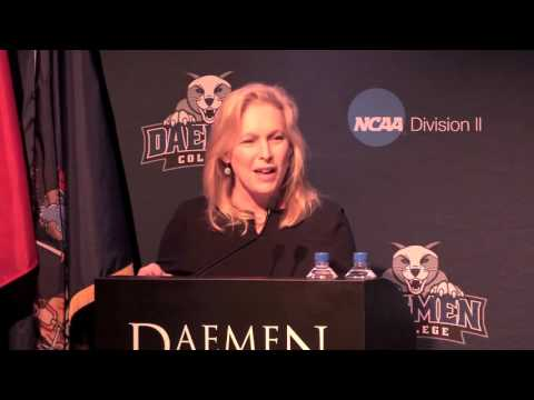 U.S. Senator Kirsten Gillibrand's National Girls & Women In Sports Week Address (4.4.16)