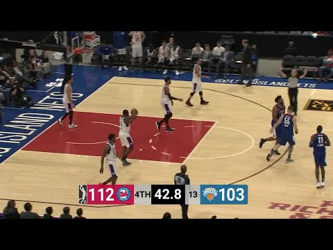 Alan Williams (27 points) Highlights vs. Westchester Knicks