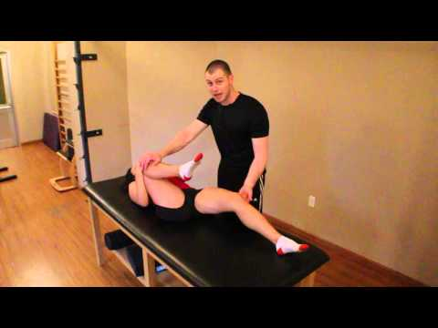 Modified Thomas Test (Psoas & Iliacus Flexibility Assessment)
