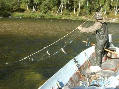 Рыбалка на реке кан