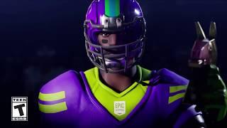 Trailer skin NFL (Football américain) Fortnite Battle Royale