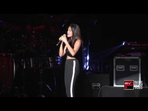 Kiana Valenciano sings