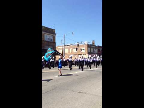 Sapulpa high school marching band
