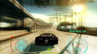 Need For Speed Undercover Gameplay - Bugatti Veyron 404 kmh