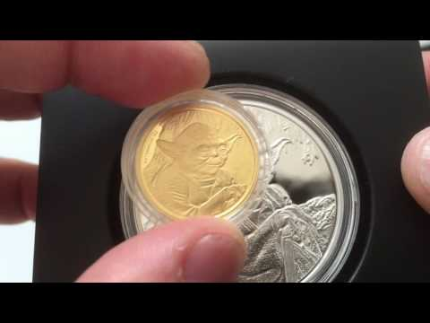 New Zealand Mint 2016 Star Wars Classics Yoda Coins + fractional stuff