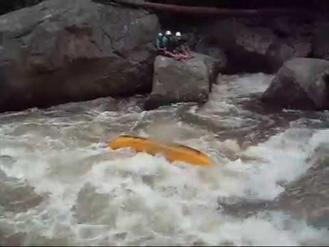 Whitewater Canoeing Carnage