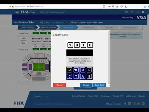 How I *almost* got tickets for the World Cup Final ...
