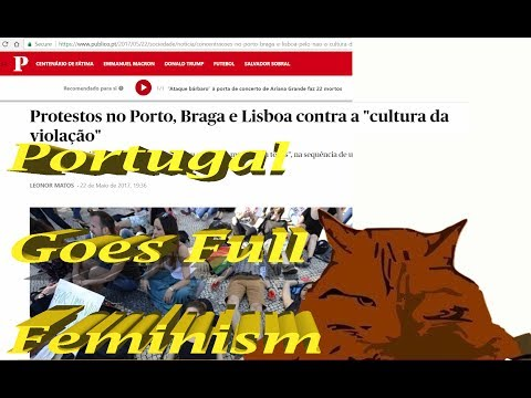Rape Culture in Portugal? Porto Academic Bus Abuse Case? (audio fix)