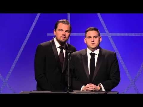 Art Directors Guild 18th Award Show Chapter 19 Jonah Hill & Leonardo DiCaprio