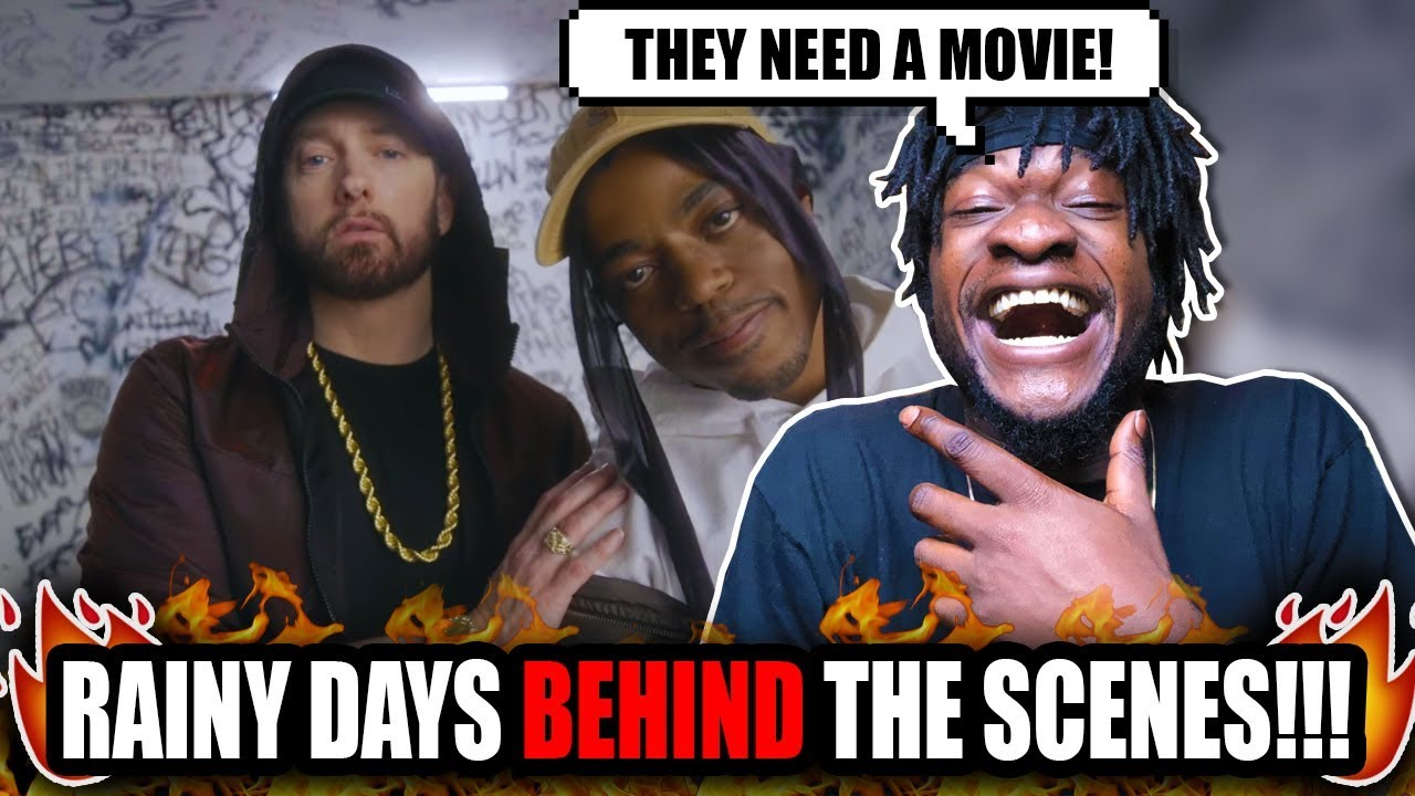 Download Eminem & Boogie Be Clownin! | Boogie - Rainy Days (feat. Eminem) [Behind The Scenes Video] REACTION!