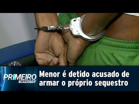 Adolescente arma o próprio sequestro para tirar dinheiro da família | Primeiro Impacto(12/09/18)