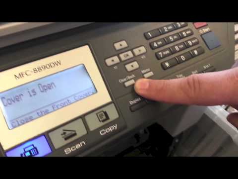 Brother MFC Printer - How To Clear the Brother Low Toner Error