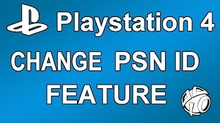 PSN ID CHANGE COMING IN THE FUTURE! + PS4 Video Editor