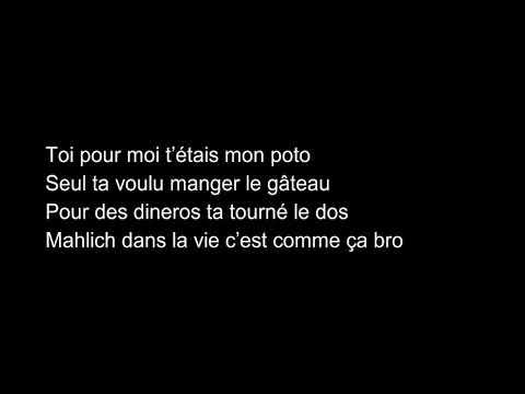 ANAS - Tête à Tête - Lyrics