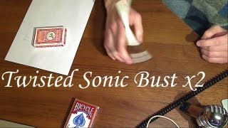 Pen Spinning (Урок): Twisted Sonic Bust и Double Bust + Пара общих советов
