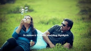 Dr.JOMON Dr.PRETTY  WEDDING HIGHLIGHTS